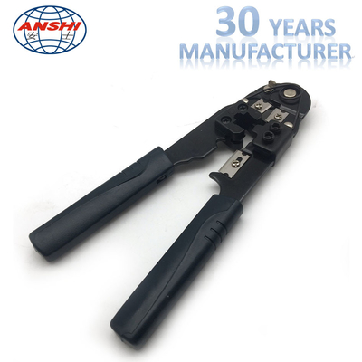 Cina Black Network Crimp Striping Cut Tool Bahan ABS Untuk Cable Striper pabrik